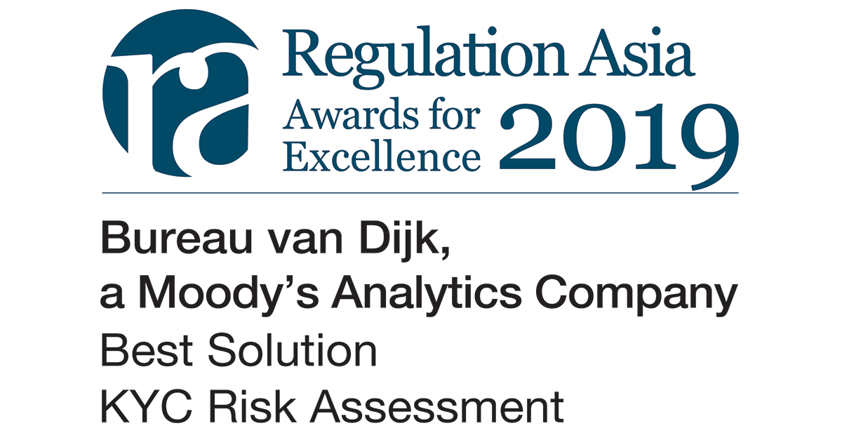 10_Bureau van Dijk_Best Solution_KYC Risk Assessment