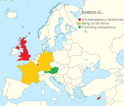 Europe transparency