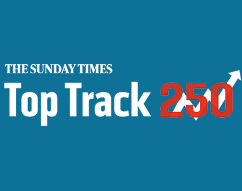 Sunday Times top track 250 logo