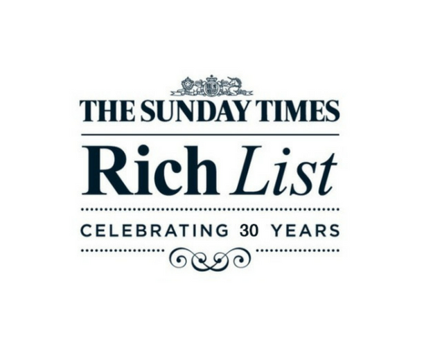 The Sunday Times Rich List 2018 logo
