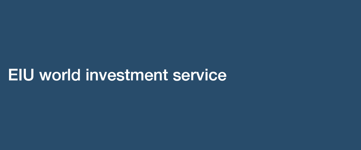 EIU World Investment Service