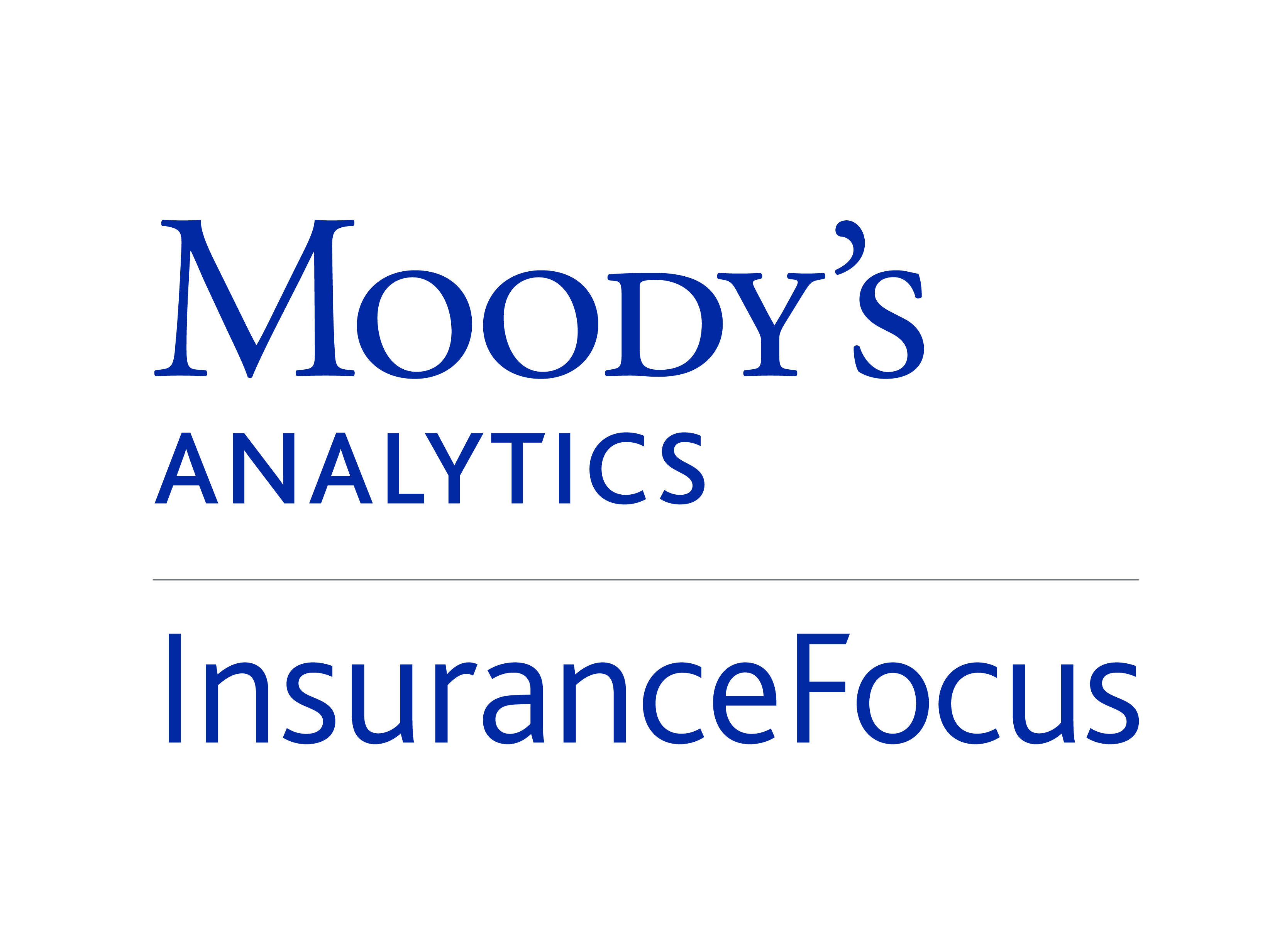 Moodys analytics insurancefocus logo