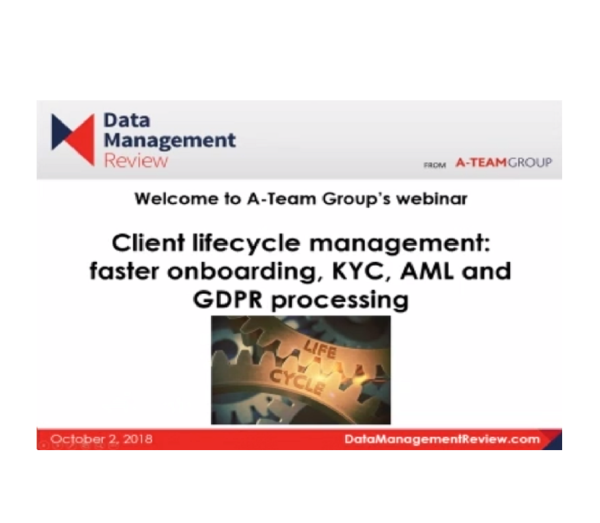 Client lifecycle management webinar